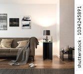 interior living room  white... | Shutterstock . vector #1034245891
