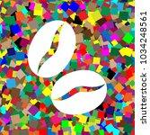 coffee beans sign. vector.... | Shutterstock .eps vector #1034248561