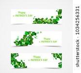 set of st patrick's day vector... | Shutterstock .eps vector #1034256331