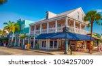 key west  fl   february 21 ... | Shutterstock . vector #1034257009