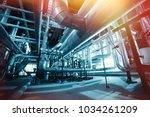industrial zone  steel... | Shutterstock . vector #1034261209