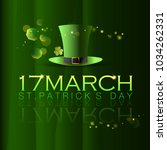 abstrackt of st.patrick's day... | Shutterstock .eps vector #1034262331