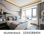 design and decoration of modern ... | Shutterstock . vector #1034288404