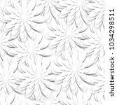 seamless pattern with paper cut ... | Shutterstock .eps vector #1034298511