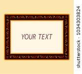 vector illustration of blank... | Shutterstock .eps vector #1034303824