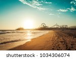 Sunset In Santa Monica  View O...