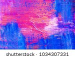 abstract oil paint texture on... | Shutterstock . vector #1034307331