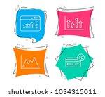 set of upper arrows  web... | Shutterstock .eps vector #1034315011
