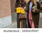 milan  italy   february 22 ...   Shutterstock . vector #1034319037