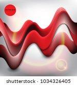 abstract vector background.... | Shutterstock .eps vector #1034326405