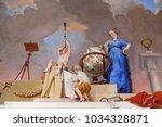 amorbach  germany   july 08 ...   Shutterstock . vector #1034328871