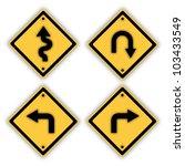 traffic signs. | Shutterstock . vector #103433549