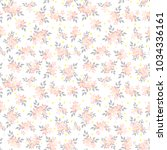 fashionable pattern in small...   Shutterstock . vector #1034336161