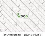 white wood plank texture for... | Shutterstock .eps vector #1034344357