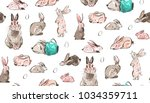 hand drawn vector abstract... | Shutterstock .eps vector #1034359711