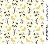 set of mid century modern...   Shutterstock .eps vector #1034370724