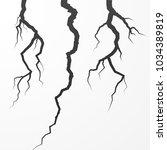 set of rift and cleft. split... | Shutterstock .eps vector #1034389819