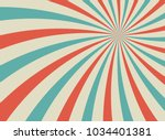 sunlight retro faded grunge... | Shutterstock .eps vector #1034401381