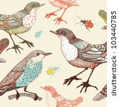 vector seamless pattern with... | Shutterstock .eps vector #103440785