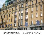 old historic building | Shutterstock . vector #1034417149