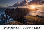 panoramic view of madeira's... | Shutterstock . vector #1034441365