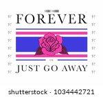 varsity slogan graphic for t... | Shutterstock .eps vector #1034442721