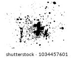 ink blots background. grunge... | Shutterstock .eps vector #1034457601