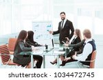 senior manager of the company...   Shutterstock . vector #1034472745