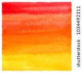 red  orange  yellow gradient... | Shutterstock . vector #1034492311
