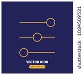 controls vector icon...