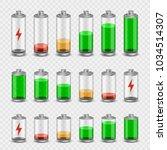 battery accumulator electricity ... | Shutterstock .eps vector #1034514307