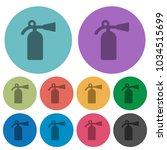 fire extinguisher darker flat... | Shutterstock .eps vector #1034515699