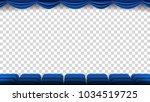 cinema chairs vector. film ...   Shutterstock .eps vector #1034519725