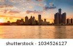 Beautiful City Skyline Detroit City - Fine Art prints