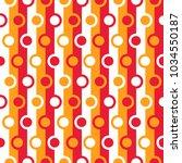 seamless abstract vector... | Shutterstock .eps vector #1034550187