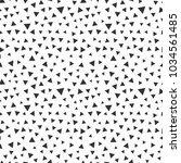 memphis geometric seamless... | Shutterstock .eps vector #1034561485