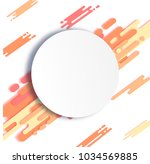 dynamic background with... | Shutterstock .eps vector #1034569885