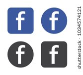 Set Of Facebook Logo