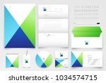 modern corporate identity... | Shutterstock .eps vector #1034574715