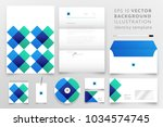 modern corporate identity... | Shutterstock .eps vector #1034574745