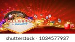 Casino Games Banner Design Wit...