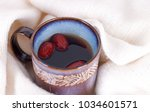 jujube water wrapped under a...   Shutterstock . vector #1034601571