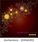 abstract vector background with ... | Shutterstock .eps vector #103460201