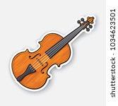 vector illustration. classical... | Shutterstock .eps vector #1034623501