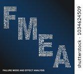 failure mode and effect... | Shutterstock .eps vector #1034624509