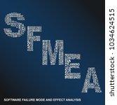 software failure mode and... | Shutterstock .eps vector #1034624515