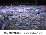 city megalopolis in miniature | Shutterstock . vector #1034661439