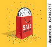 special limited time sale... | Shutterstock .eps vector #1034680975