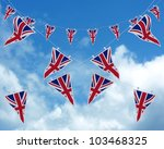 3d Render Of Union Jack Buntin...