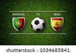3d rendering   football match... | Shutterstock . vector #1034685841